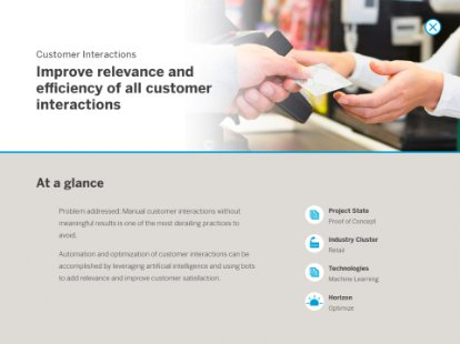 Screenshot from the SAP Innovation Guide