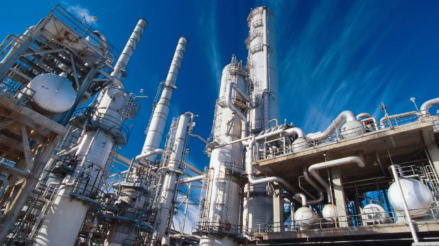 Chemical plant using SAP MII software