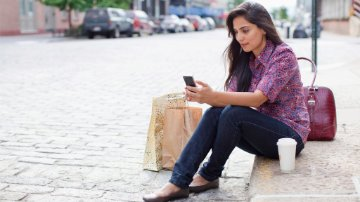 Shopping on a mobile device