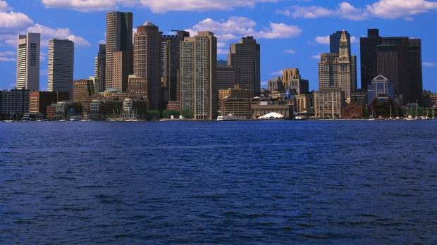 Photo of the Boston, MA skyline
