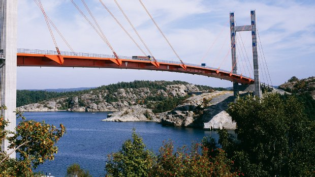 Image of a bridge spanning a body of water