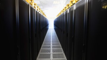 Sercer room hosting Big Data