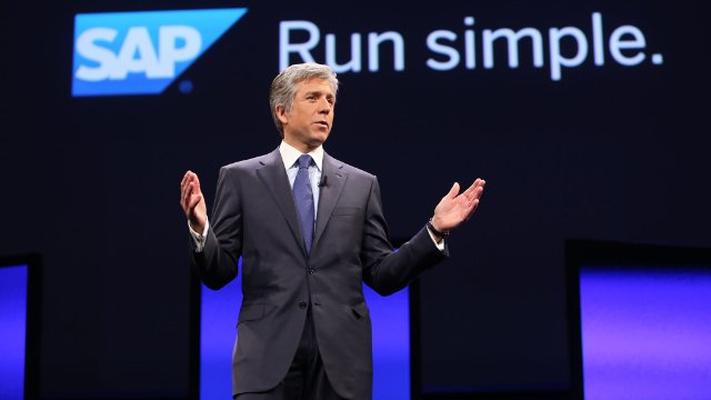 Bill McDermott, CEO, SAP SE