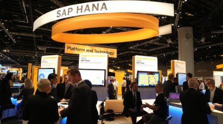 SAP HANA booth at SAPPHIRE NOW