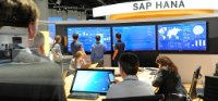 SAP HANA booth at SAPPHIRE NOW 2015