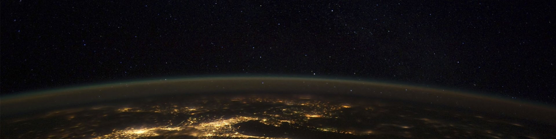 View of earth from outer space, representing SAP S/4HANA, the next-generation ERP business suite