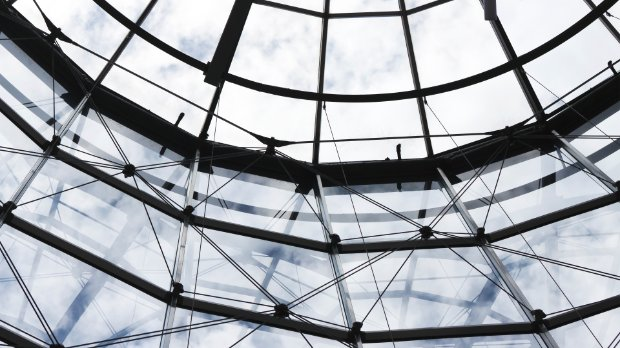 Image of a glass ceiling