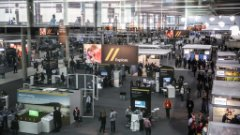 View of SAP TechEd show floor