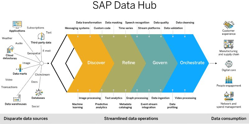 Product structure image for SAP Data Hub