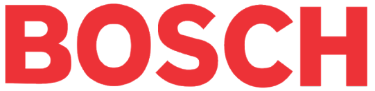 Logo for Bosch Service Solutions, which uses cloud solutions from SAP