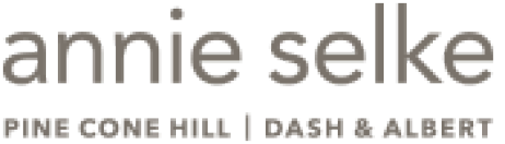 Logo for Annie Selke, an SAP commerce software customer