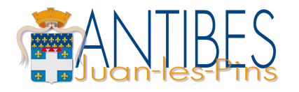 Logo for the City of Antibes, a famous resort town using SAP solutions to keep visitors safe