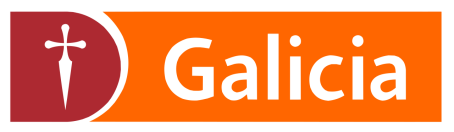 Logo for Banco Galicia, an SAP customer that runs core banking solutions from SAP