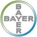 Logo for Bayer, a research organization using health solutions from SAP