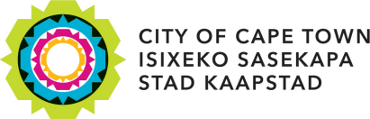 Logo for the City of Cape Town, an SAP Investigation Management for Public Sector customer
