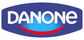 Logo for Danone, an SAP Cloud Platform customer
