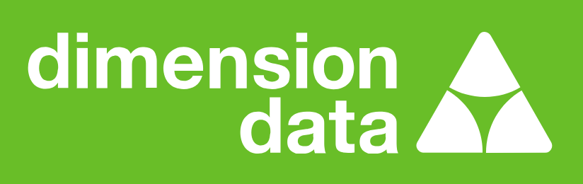 Logotipo da Dimension Data, cliente do SAP Enable Now
