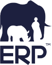 Logo for Elephants, Rhinos & People, a customer of SAP HANA
