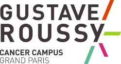 Logo for Gustave Roussy, a healthcare company that runs SAP software