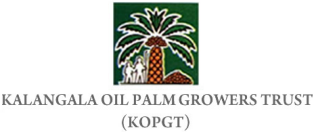 Logo for Kalangala Palm Oil Growers Trust, an SAP customer that supports local farmers in Uganda with cloud applications from SAP