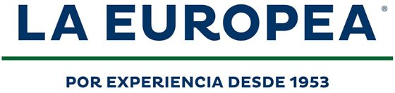 Logo for La Europea, an SAP customer that uses the SAP Model Company service