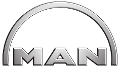 Man customer logo