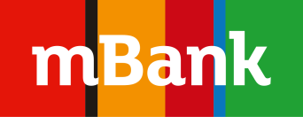Logo for mBank, Poland's first online bank, which uses SAP Predictive Analytics for a better customer experience