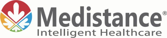 Logo for Medistance, which enhanced patient comfort and care with SAP Business One