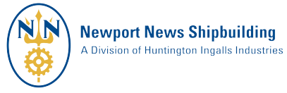 Logo for Newport News Shipbuilding, which uses SAP SuccessFactors