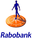 Logo for Rabobank, an SAP for Banking solutions customer