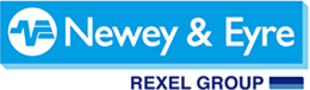 Logo for Rexel, which uses IaaS solutions from SAP