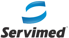 Logo for Servimed, an SAP Enterprise Warehouse Management customer
