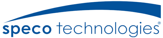 Logo of Speco Technologies, a small business and SAP customer that uses the ERP capabilities of SAP Business One