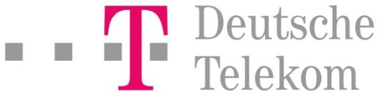 Logo for Telekom Deutschland, an SAP Hybris solution customer