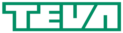 Logo for Teva, an SAP customer that relies on simple HCM technology