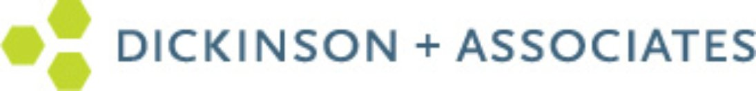 Logo for Dickinson + Associates, which used SAP software to enhance project profitability tracking