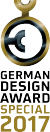 Screenshot of German Design Award logo
