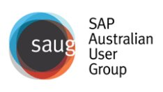 SAP Australian User Group (SAUG)  logo