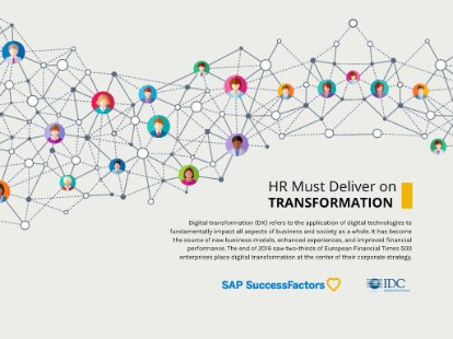 Preview of the asset on how HR can support transformation