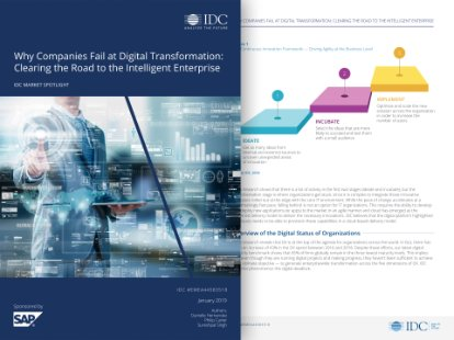 IDC white paper on the intelligent enterprise