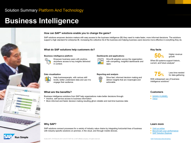 Asset preview of SAP Business Intelligence platform white paper
