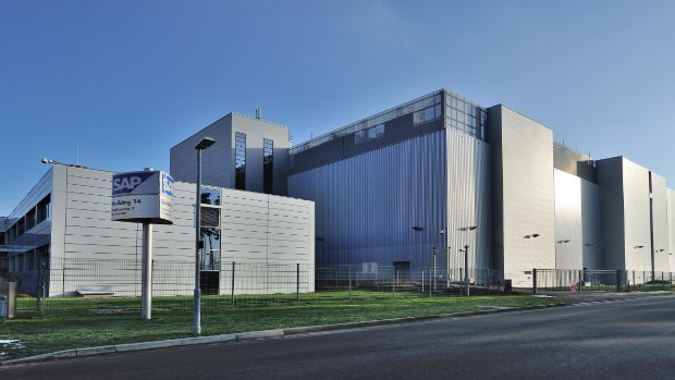 Image of the SAP data centre at St. Leon-Rot, Germany