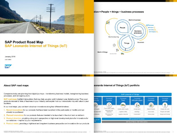 Road map of SAP Edge Services