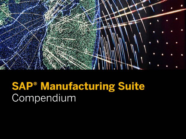 Screenshot from a report on solutions for manufacturing from SAP