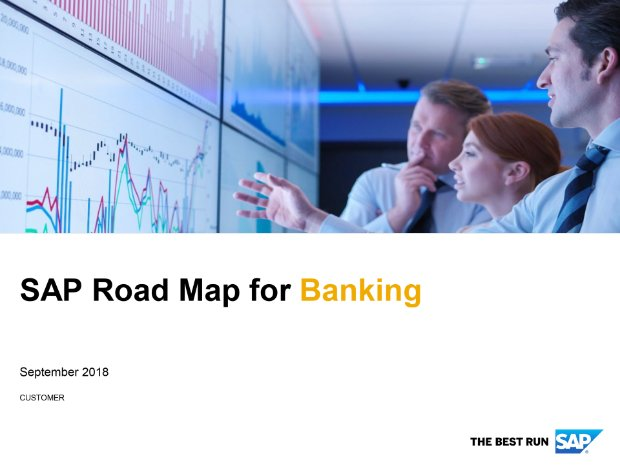Screenshot from the banking road map