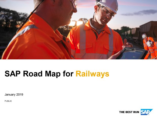 Screenshot from the railways road map
