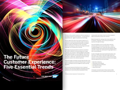 Preview of the white paper on customer experience trends