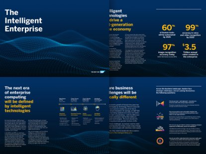 Image of the intelligent enterprise brochure