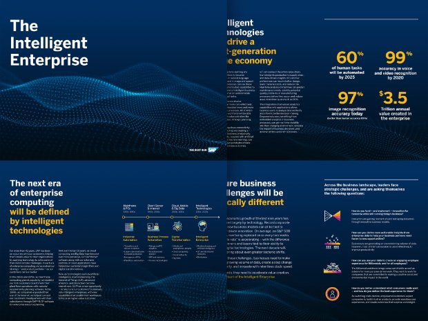 Preview of the brochure on the Intelligent Enterprise