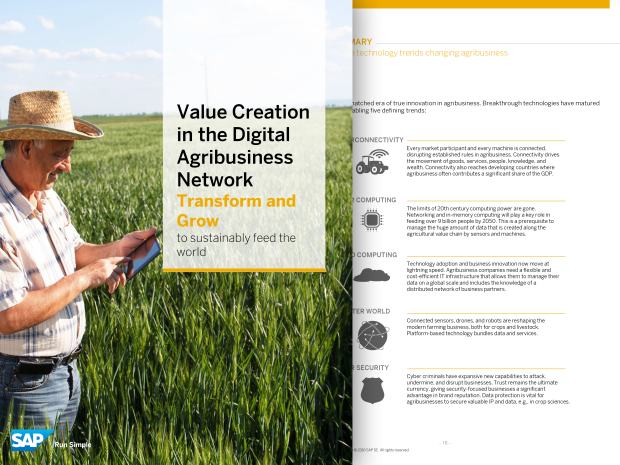 Image of the white paper on the digital agribusiness industry